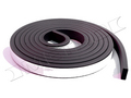 "Universal self adhesive weatherstrip 3/4"" wide by 5/16"" thick and 10 feet long"