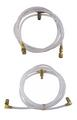 1984-1986 Chrysler LeBaron & Dodge 600 new convertible top hose set