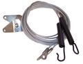 1971 GM full size cars convertible top hold down tension cables, pair
