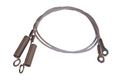 1996-2005 Chrysler Sebring convertible top hold down tension cables, pair.