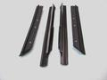 1983-1993 Ford Mustang rear quarter window sweep set, 4 pcs