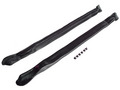 1971-1975 Oldsmobile Delta && Delta 88 Royale convertible pillar post weatherstrip seals, pair.